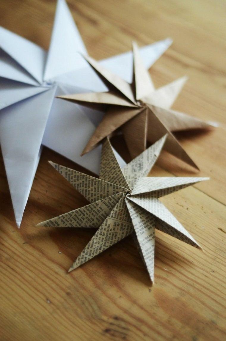 manualidades con papel detalle manera mesa