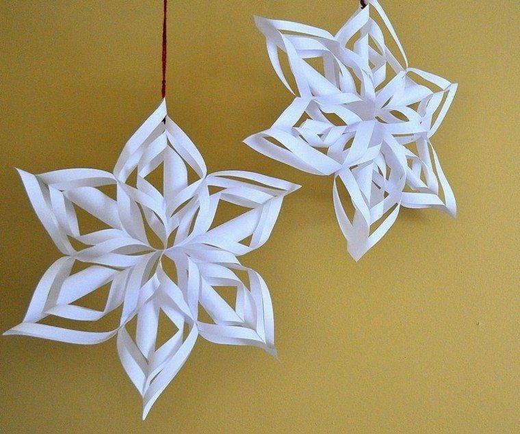 Manualidades con papel retocando el ambiente navide o - Manualidades de navidad con papel ...