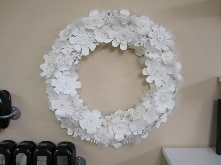 manualidades con papel faciles elegantes blanco