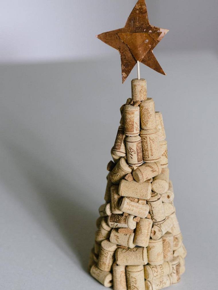 de navidad originales corchos vino arbol ideas