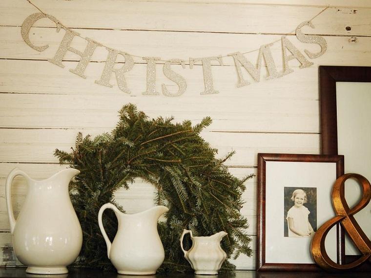 manualidades de navidad originales guirnalda para puerta ideas