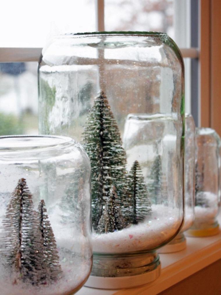 de navidad originales tarros arbol navidad dentro ideas