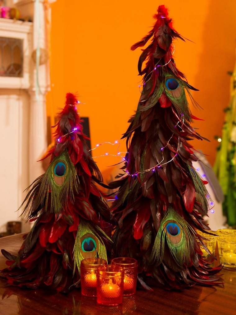 Manualidades de navidad 50 ideas para decorar - Manualidades navidad arbol ...