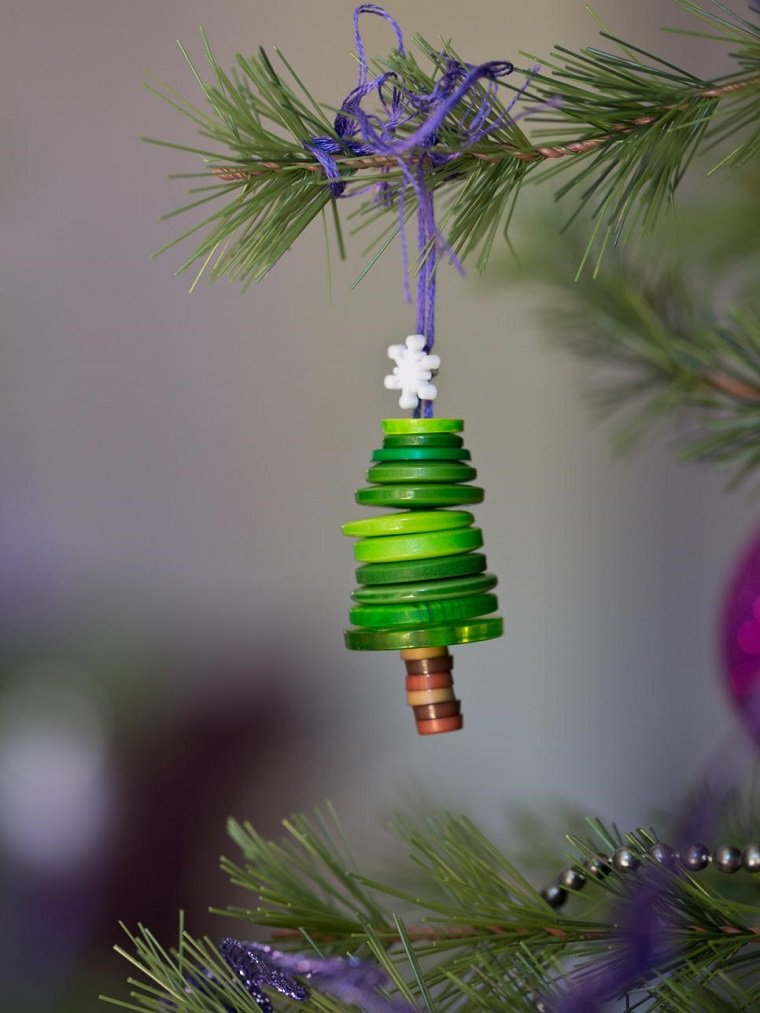 manualidades navidad originales decoracion arbol ideas