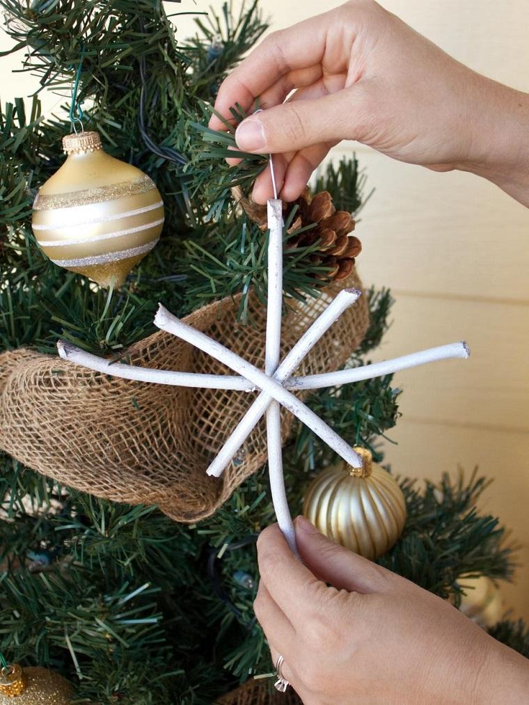 manualidades navidad originales estrella hecha cables ideas
