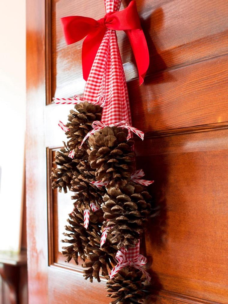 Manualidades de navidad 50 ideas para decorar - Decoracion de guirnaldas ...