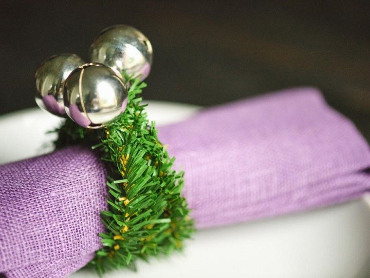 manualidades navidad originales mesa moderna navidad ideas