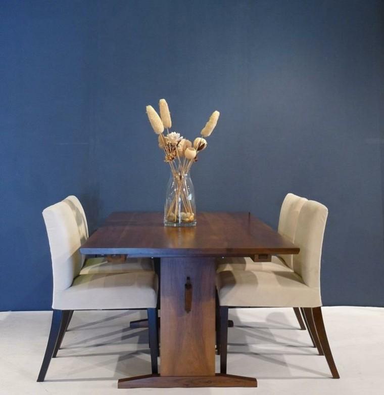 mesa caballete sillas comedor elegante