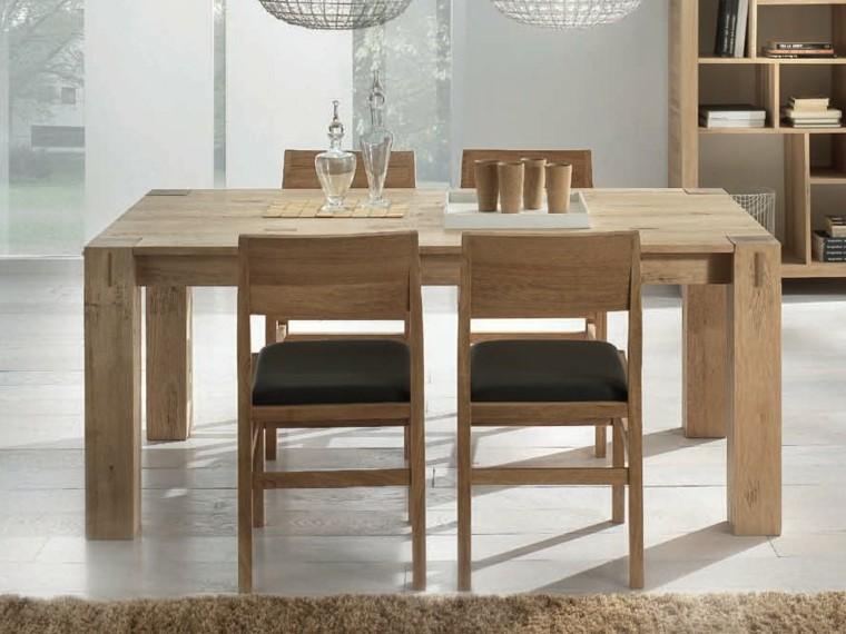 Mesas comedor ideas de madera elegancia y estabilidad for Como hacer una mesa de madera para comedor