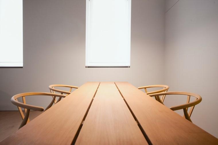 mesa comedor estilo minimalista madera