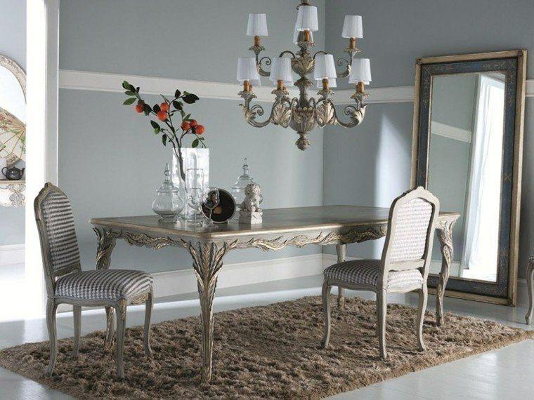 Mesas comedor ideas de madera elegancia y estabilidad for Comedores tapizados