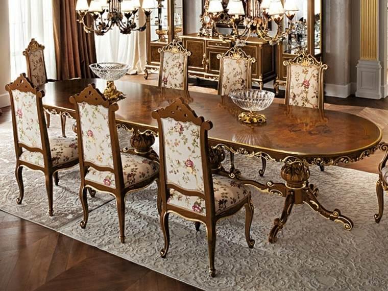 Mesas comedor ideas de madera elegancia y estabilidad for Sillas de comedor clasicas de madera