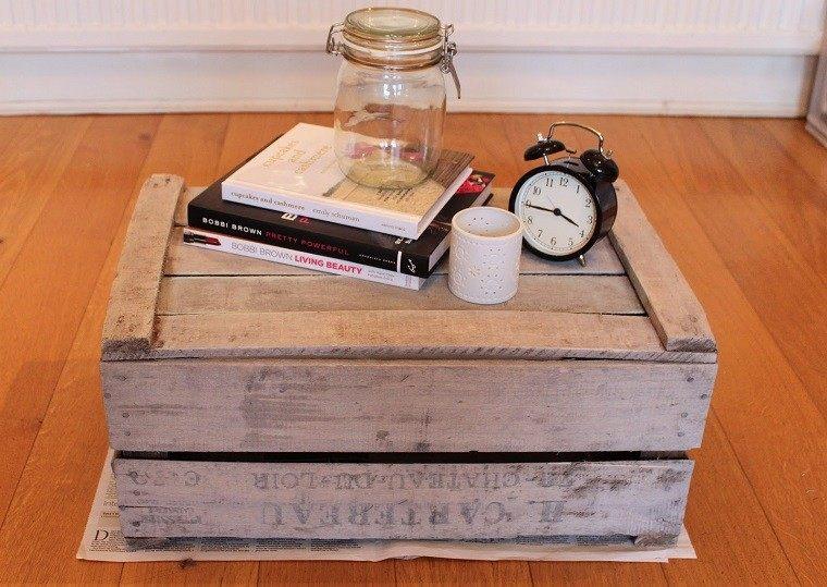 mesilla madera caja frutas