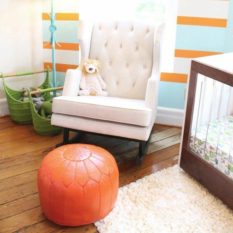 muebles bebe sillon blanceante comodo blanco ideas