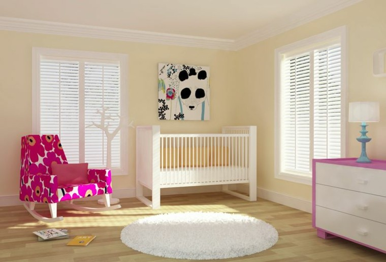 muebles bebe sillon estampa flores ideas
