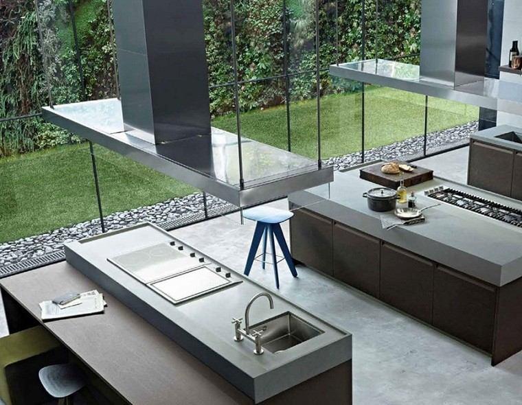Simple y elegante 25 cocina de lujo que te enamoraran for Diseno de cocinas grandes y modernas