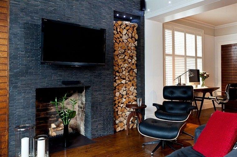moderno sofa diseño madera cuero