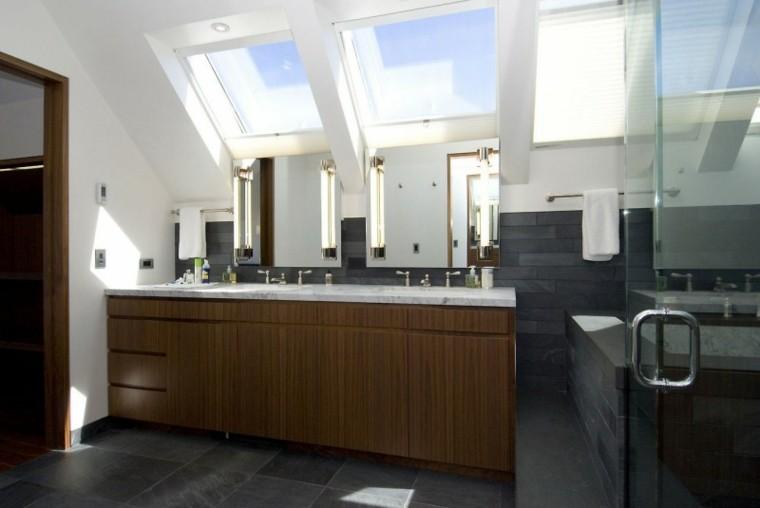 mueble lavabo madera laminada