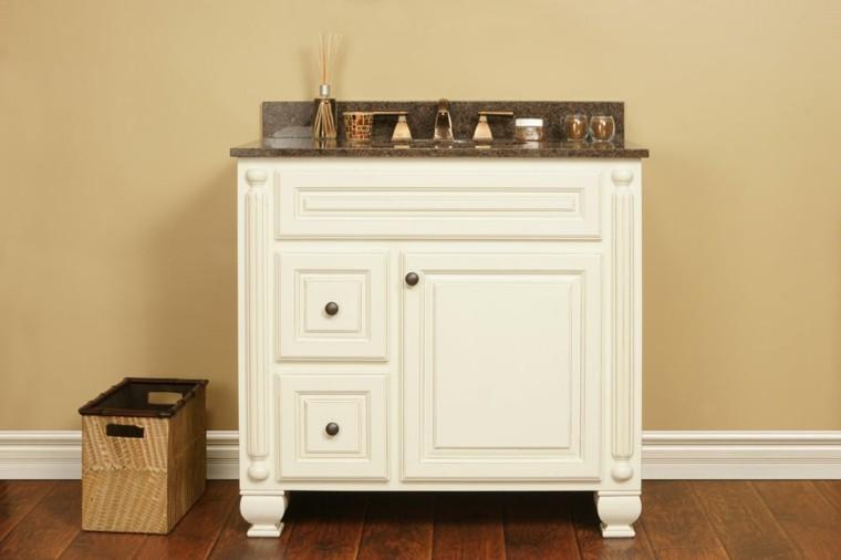 decorar mueble lavabo : decorar mueble lavabo:Decorar baños con muebles de baño vintage