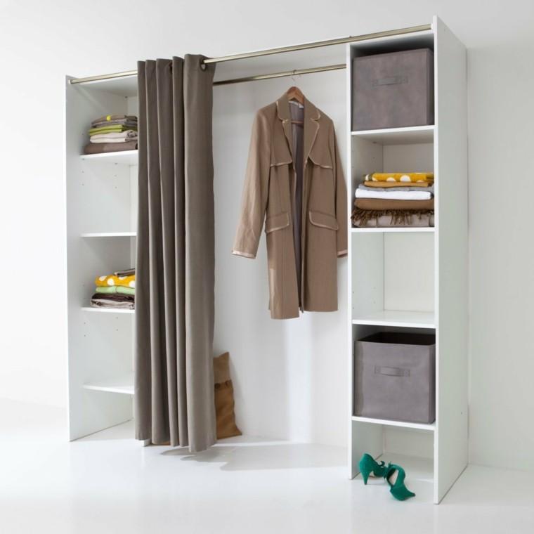 Vestidores grandes y armarios empotrados 50 ideas - Dressing extensible pas cher ...