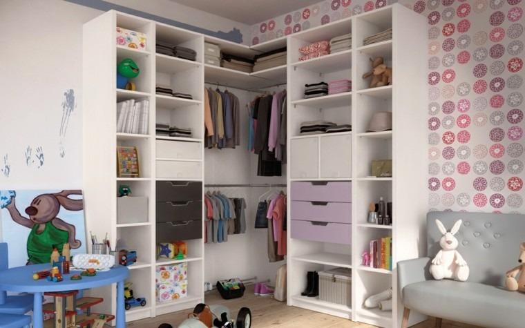 mueble vestidor armario cuarto infantil