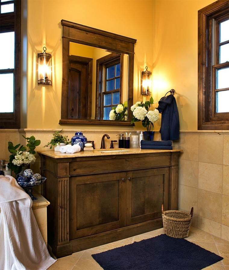 Decorar baños con muebles de baño vintage