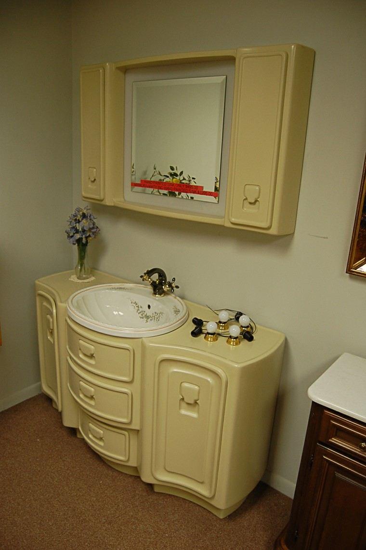 Muebles Baño Vintage:Decorar baños con muebles de baño vintage