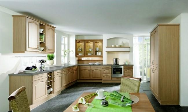 muebles cocina tradicional madera
