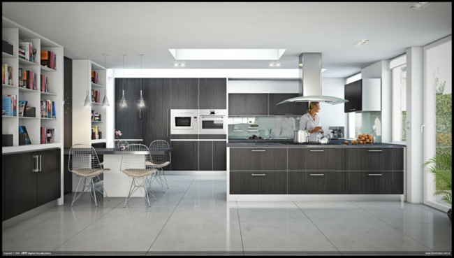 muebles cocina laminado color gris
