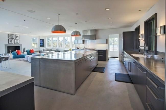muebles cocina moderna acero inoxidable