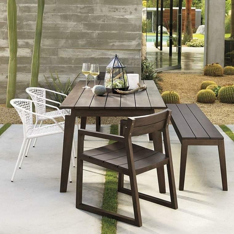 Muebles exterior y confort creando el patio que mereces - Muebles de exterior de diseno ...