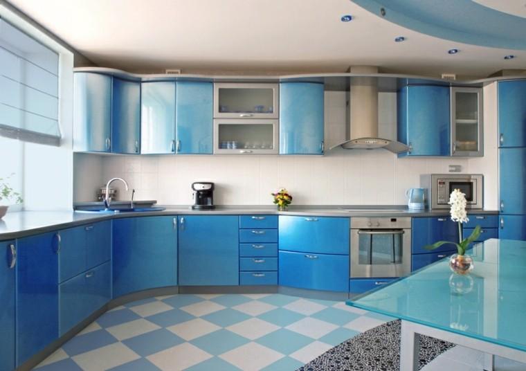 Azul Y Blanco Los Colores De Moda Para Interiores