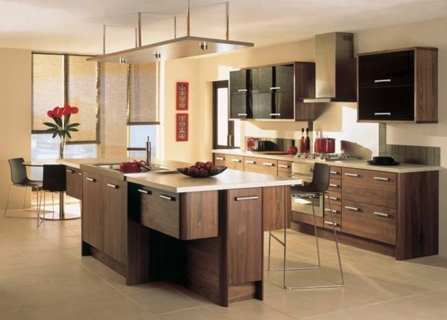 muebles madera cocinas modernas laminada
