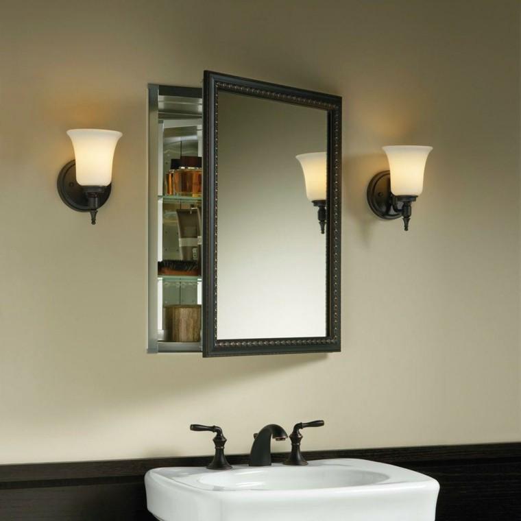 Muebles De Baño Estilo Minimalista:muebles de baño retro de estilo minimalista