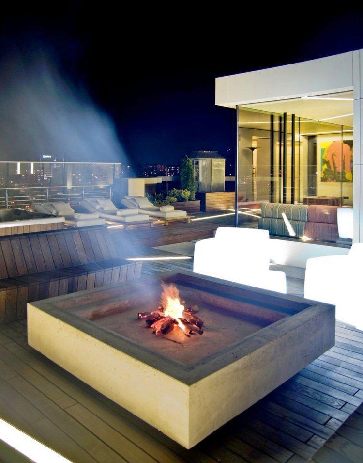 night smoke modern design warm
