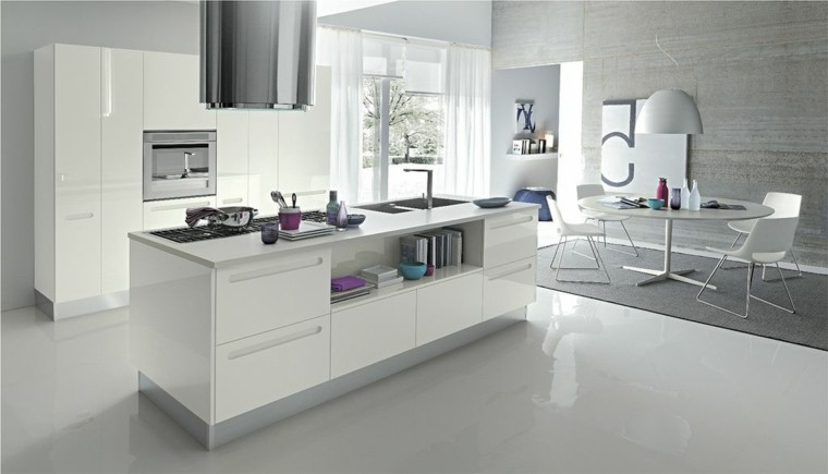 numero moderna cocina cabinetes cuadro