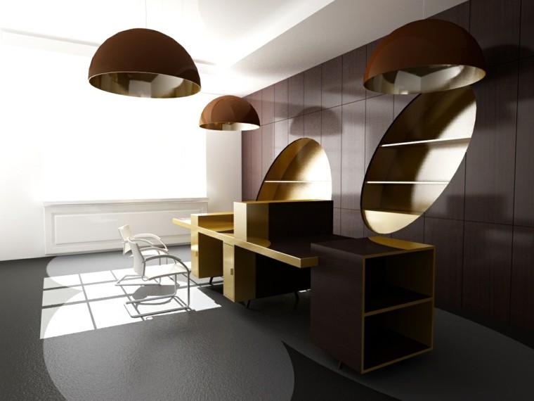 muebles oficina diseño moderno madera