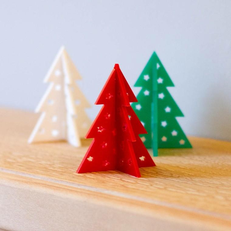 originales adronos arboles navidad pequeños