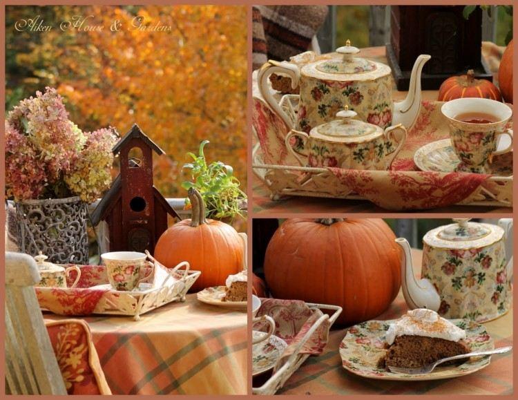 original decoración otoño te