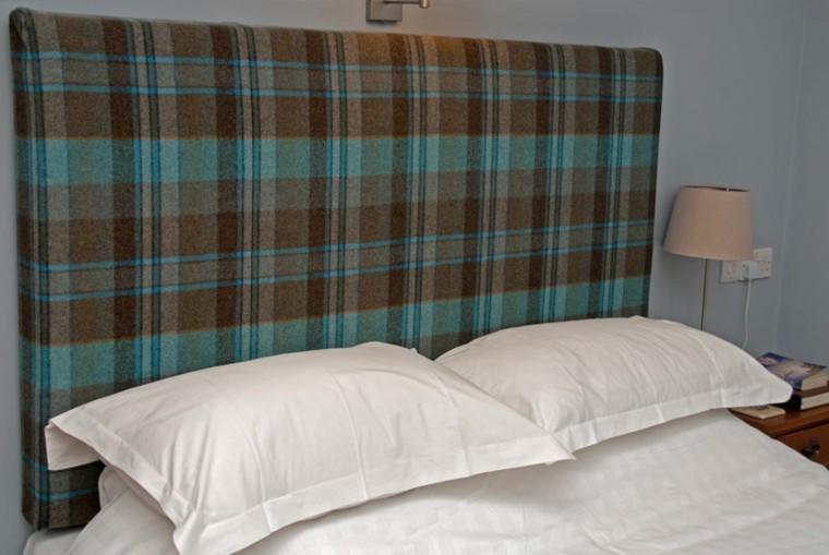 Cabeceros hechos a mano cincuenta ideas geniales - Cabecero cama acolchado ...