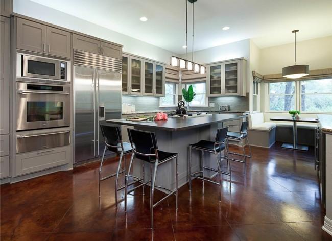 original diseño muebles cocina acero
