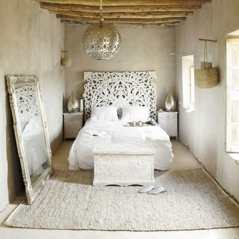Cabeceros hechos a mano cincuenta ideas geniales - Cabeceros cama caseros ...