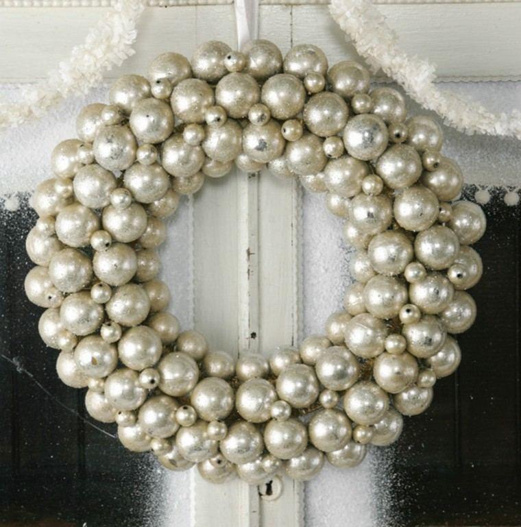original diseño guirnalda perlas blancas