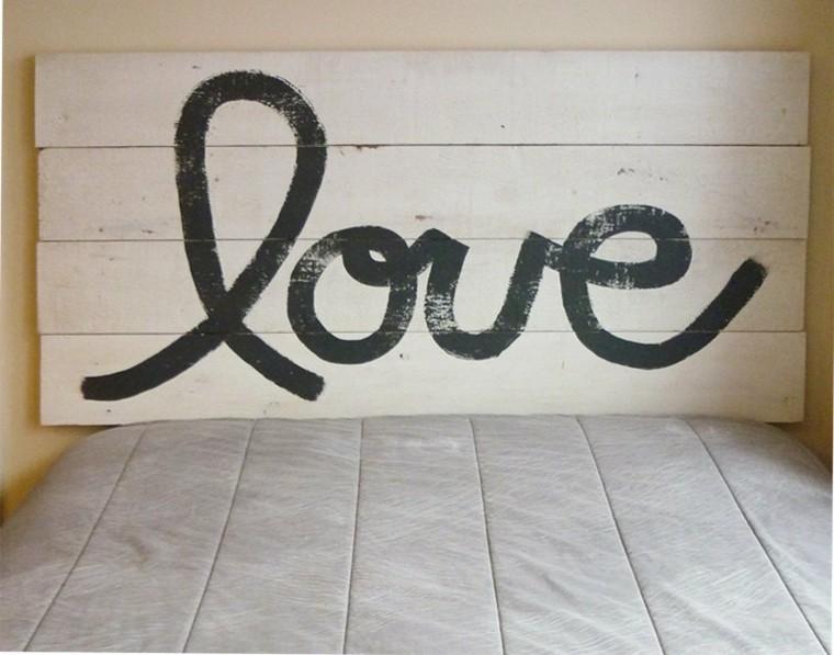 original diseño cabecero tablas love
