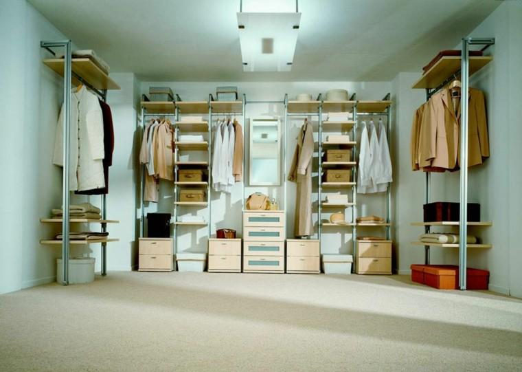 Vestidores grandes y armarios empotrados 50 ideas - Vestir un armario ...