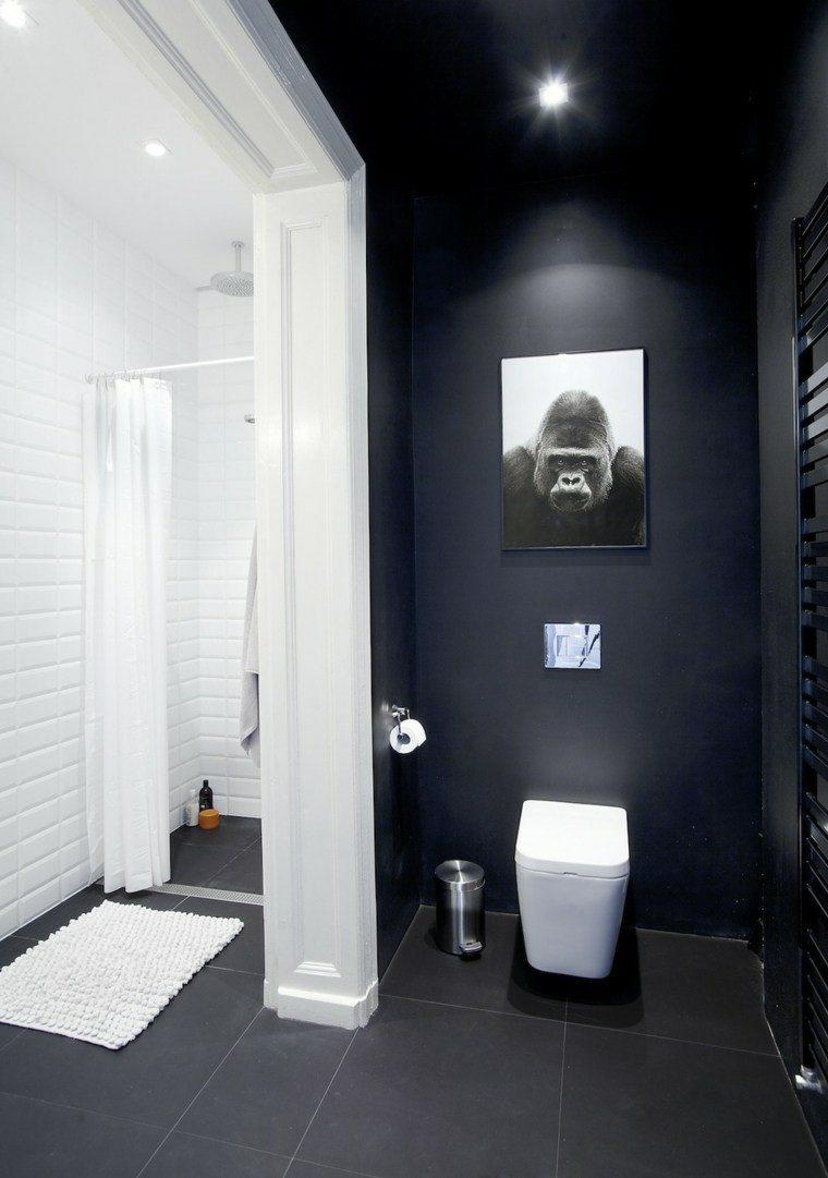 original diseño baño pared gorila