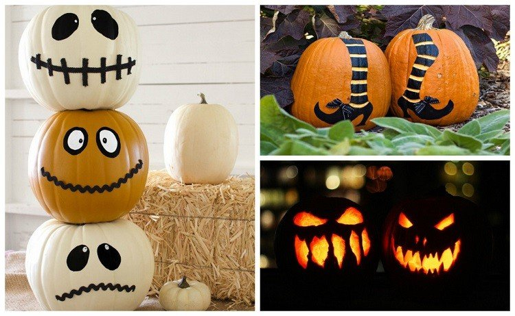 Manualidades de halloween para decorar 50 ideas for Como decorar una calabaza original