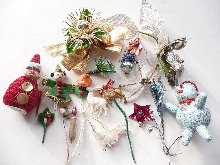 ornamentos arbol decoracion vintage navidad ideas