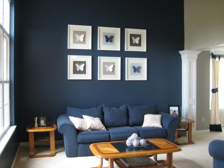 Paleta de colores oscuros para el sal n moderno - Colores grises para salones ...