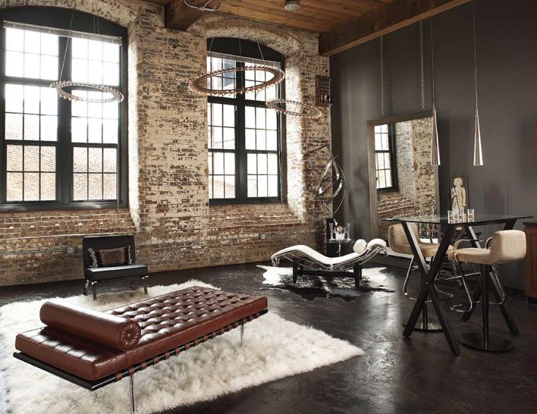 paleta de colores oscuros salon moderno pared negra ideas